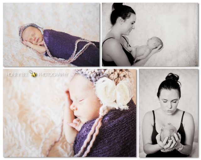 Brisbane Newborn | Children | Family | Maternity Photography | Mother's love | Bonnets | Cuddles | Black & White