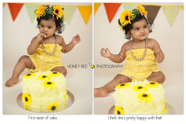 Brisbane Family | Children | Newborn | Maternity | Wedding Photography | Cake Smash | Sunflowers | Yellow | Yummy Fun | Lace Romper