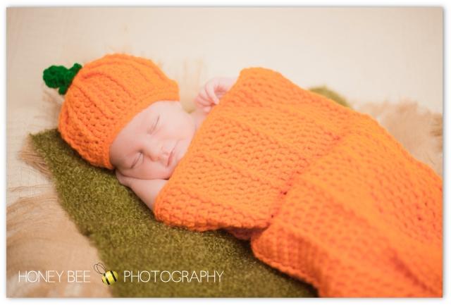 Brisbane Family | Children | Newborn | Maternity Photography | Babies | Cute | Props | Pumpkin | Halloween Baby