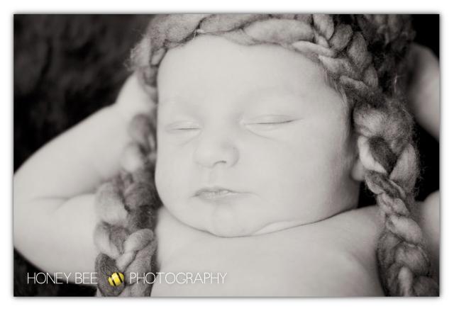 Brisbane Family | Children | Newborn | Maternity Photography | Babies | Cute | Props | Beanie | Black & white
