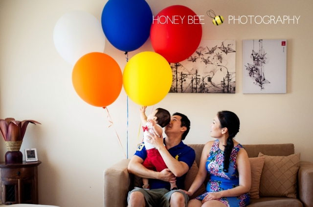 Brisbane Family | Children | Newborn | Maternity | Wedding Photography | Babies | Cute | Props | Cake smash | Turning 1 | Custom cake | Hot Air Balloon | High Tea