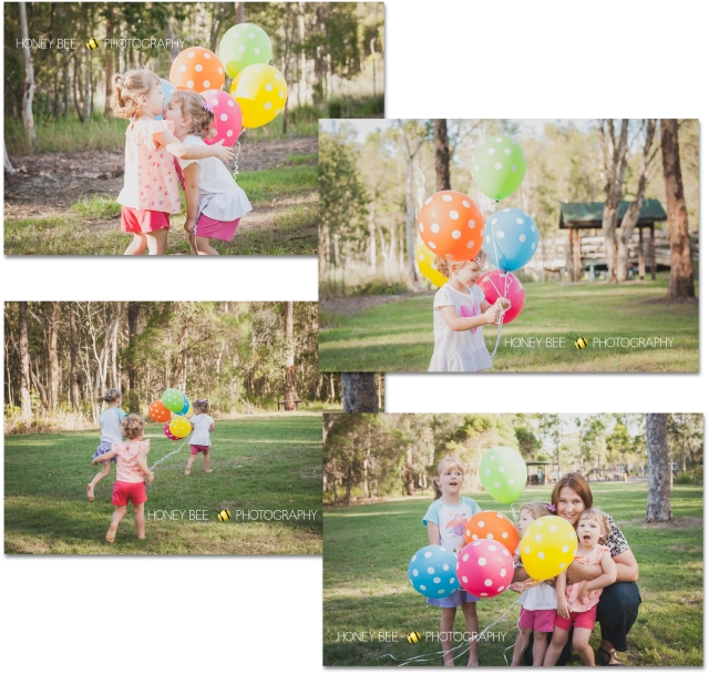 Brisbane Family | Children | Newborn | Maternity | Wedding Photography | On Location | Golden Hour | Balloons | Twins | Giggles
