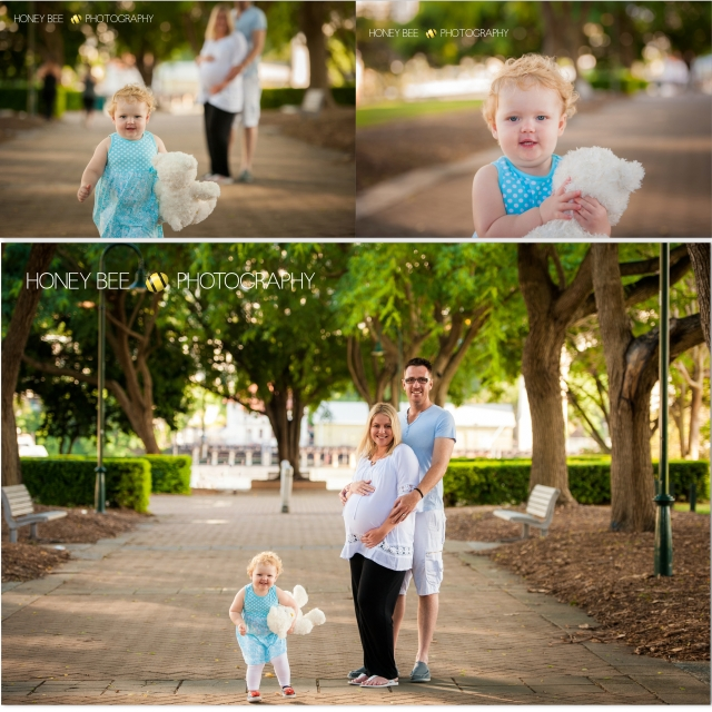 Brisbane Family | Children | Newborn | Maternity | Wedding Photography | Teddy Bear | Blue Dress | Pregnant | Trees