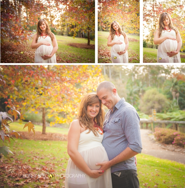 Brisbane Family | Children | Newborn | Maternity | Wedding Photography | Autumn | Leaves | Cream Dress | Couples