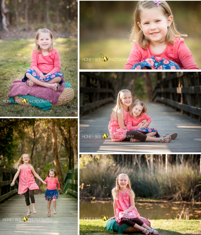 Brisbane Family | Children | Newborn | Maternity | Wedding Photography | Sibling |Cousins | Best friends | Bridge | lake | Skipping