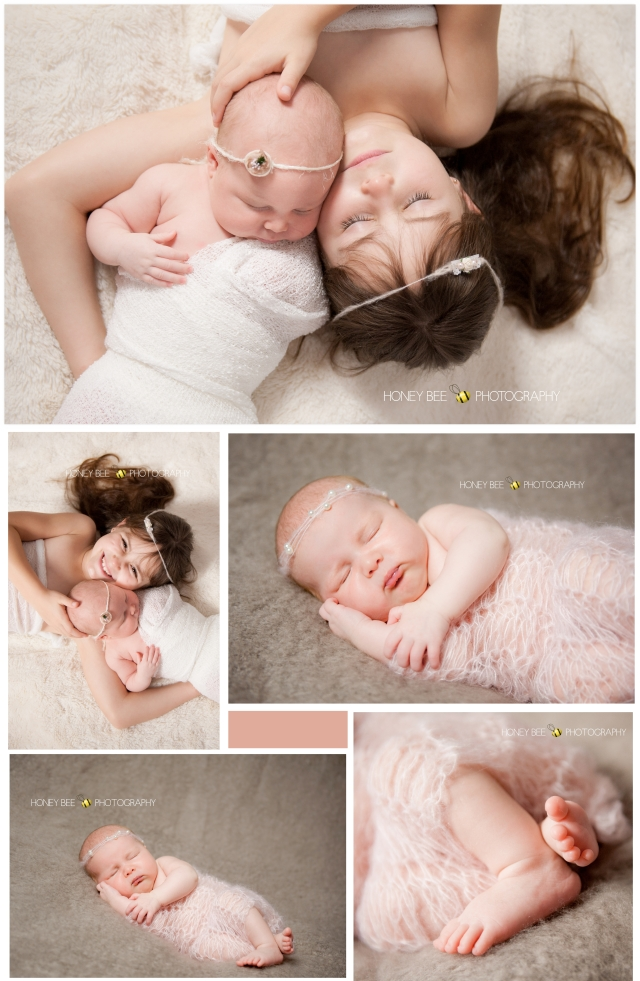Brisbane Newborn Photography, pretty in pink, sisters,