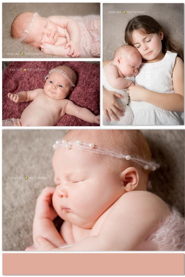 Brisbane newborne photography, brisbane newborn photography, sister, pretty in pink, baby photographer brisbane