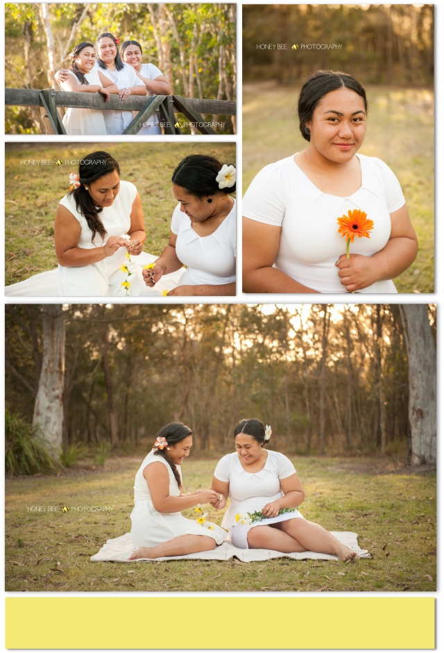 Brisbane family photography, brisbane family photographer, karawatha forrest, flowers, daisy chains, siblings
