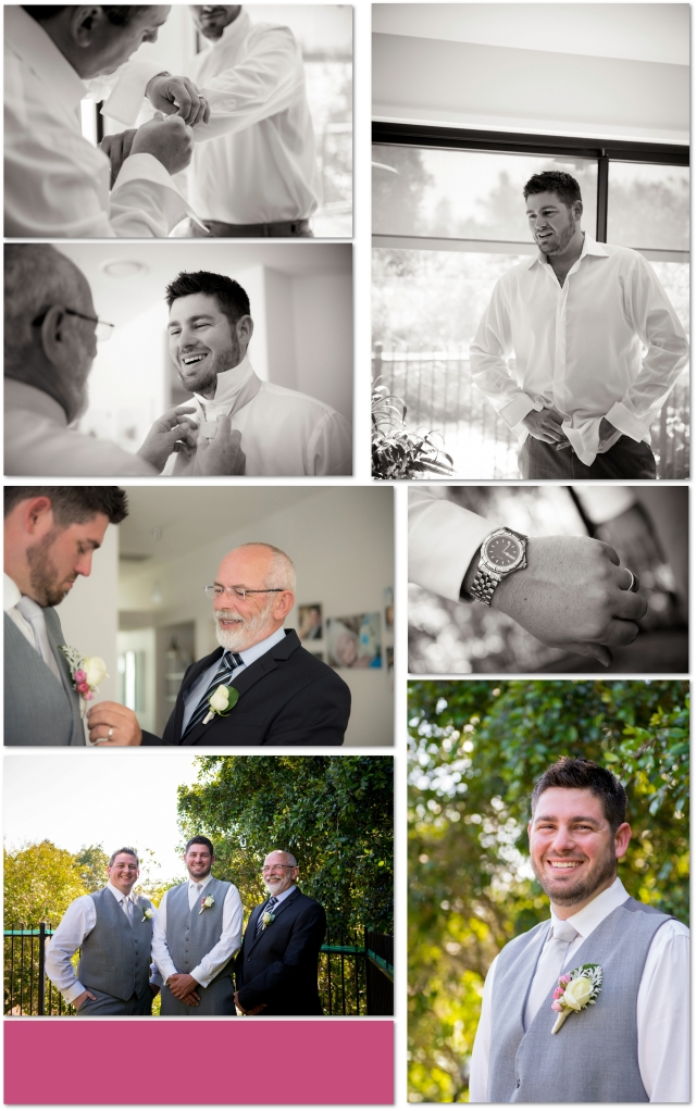Brisbane Wedding Photographer, Groom and Groomsman, Wedding preparations