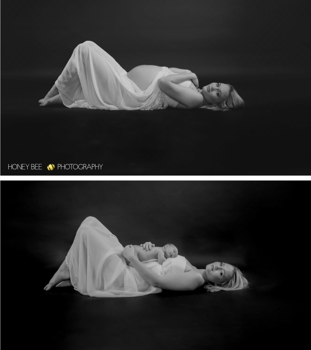 Brisbane Wedding, Maternity, Newborn Children and Family Photographer, wraps, cuddles, black & white, studio